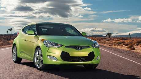 2012 Veloster Turbo: Quirky three-door and at times Australia's sports car bestseller