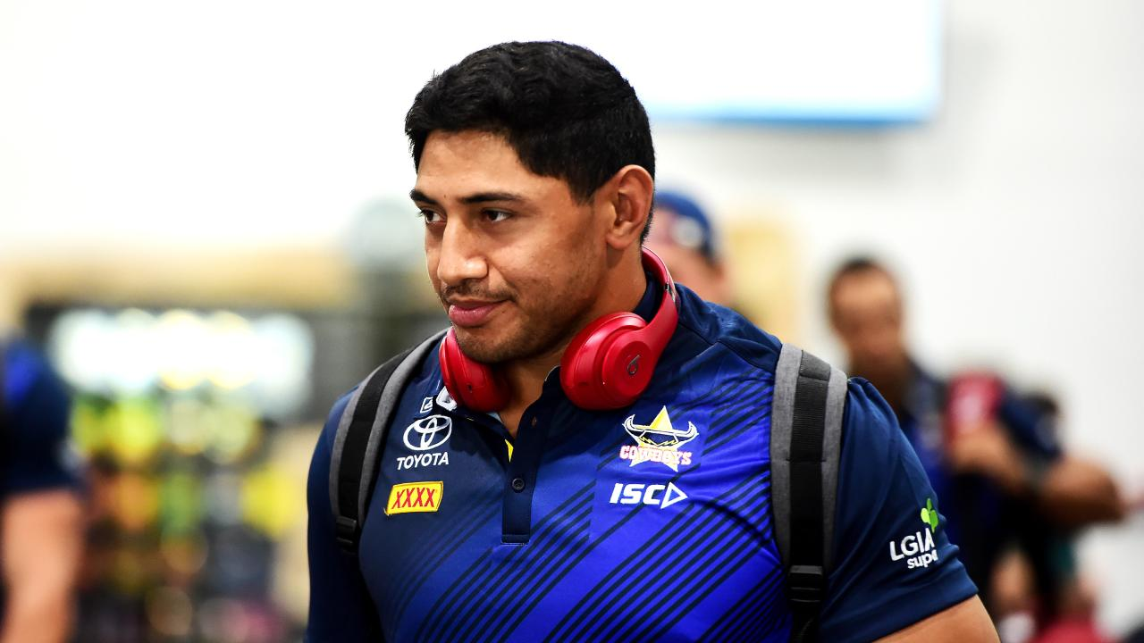 Jason Taumalolo is facing two months on the sideline with his MCL injury. Picture: Alix Sweeney