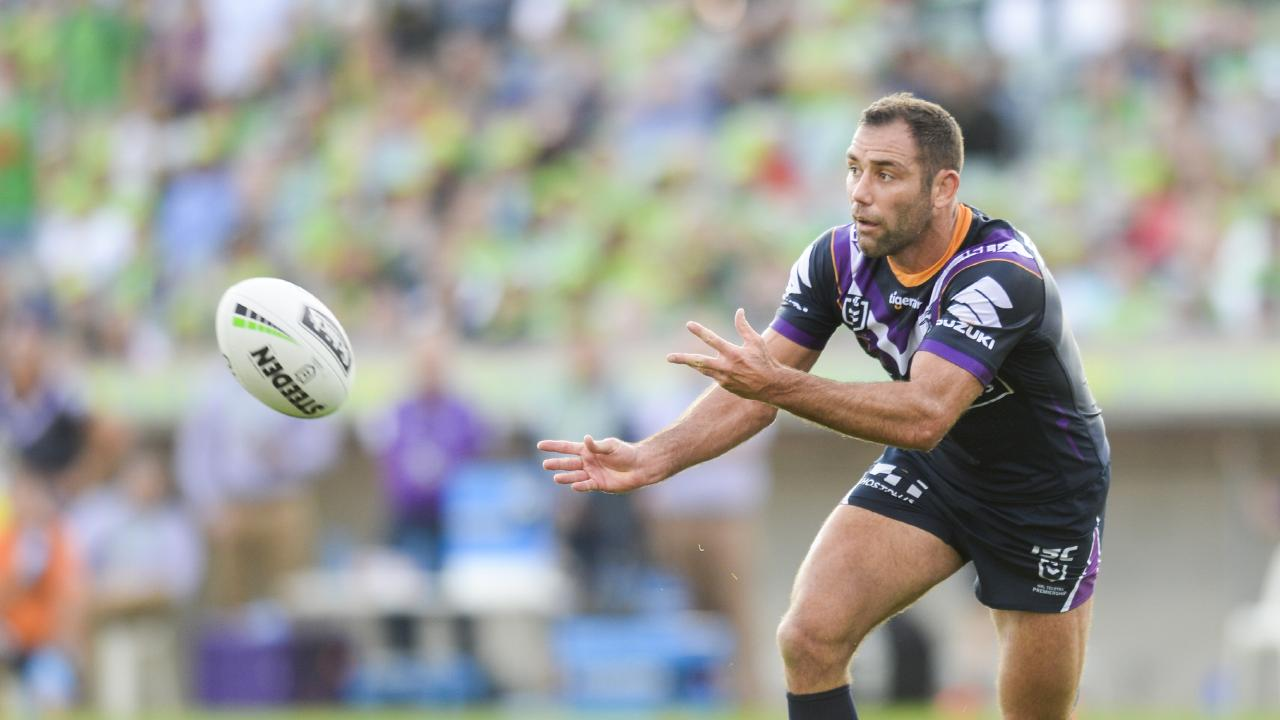 Cameron Smith and the Storm are off to a hot start. Picture: AAP