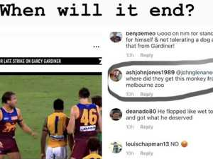 AFL star: 'They are disgraceful humans!'
