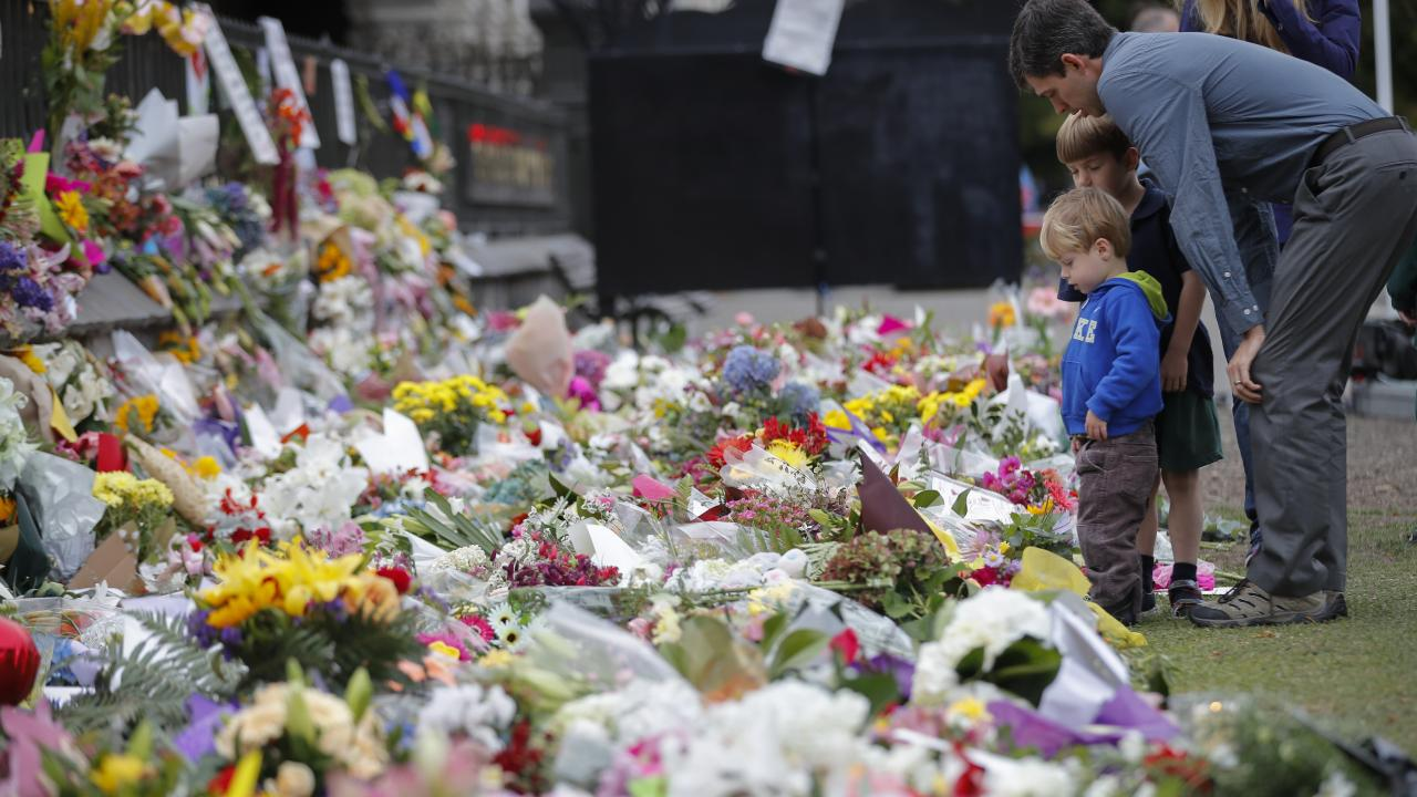 A national memorial service will be held for the Christchurch shooting victims. Picture: Vincent Thian/AP
