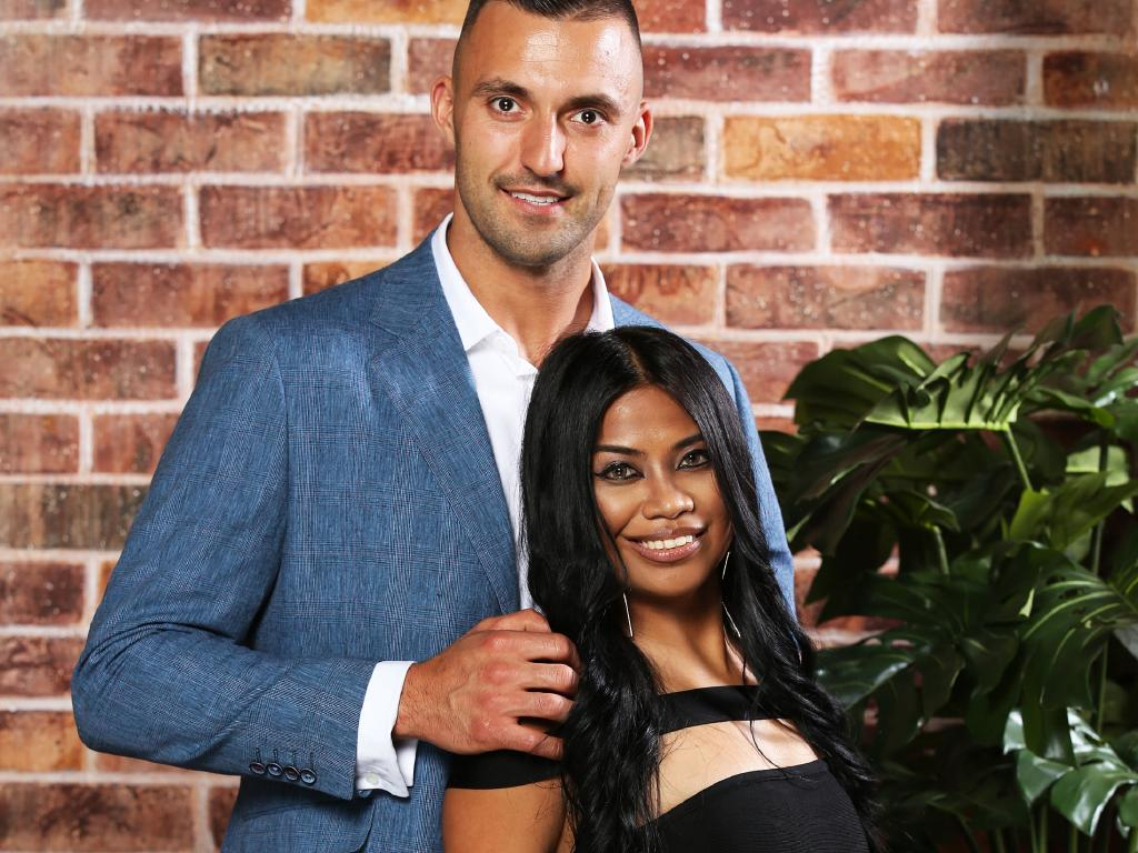 Married At First Sight couple Nic Jovanovic and Cyrell Paule.