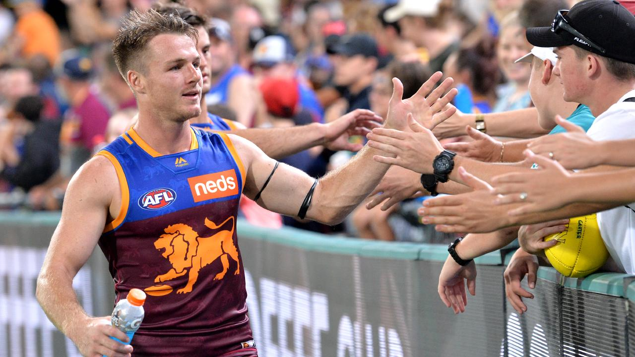 Lincoln McCarthy has been a hit with Lions fans. Picture: Getty Images