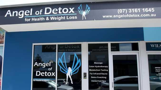 The Angel of Detox centre in Wilston. Picture: AAP/Steve Pohlner