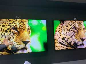 For your viewing pleasure: Samsung unveils mega 8K TV