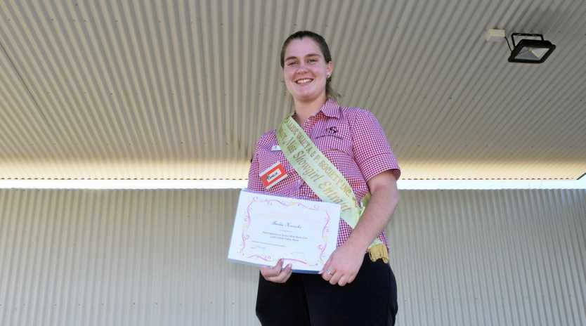 SHOW TIME: Callide Valley Showgirl co-ordinator Amelia Horrocks is encouraging entrants for the upcoming May show.