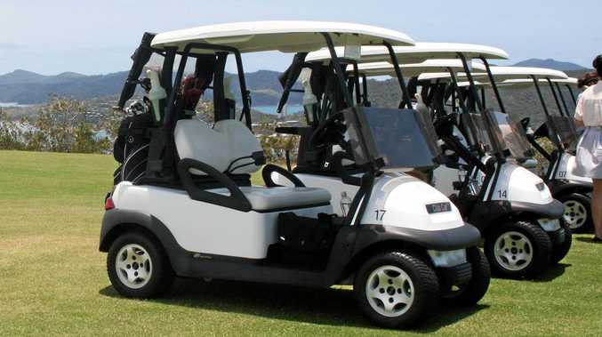 A woman who crashed a golf buggy while drink-driving on Hamilton Island has faced Proserpine Magistrates Court.