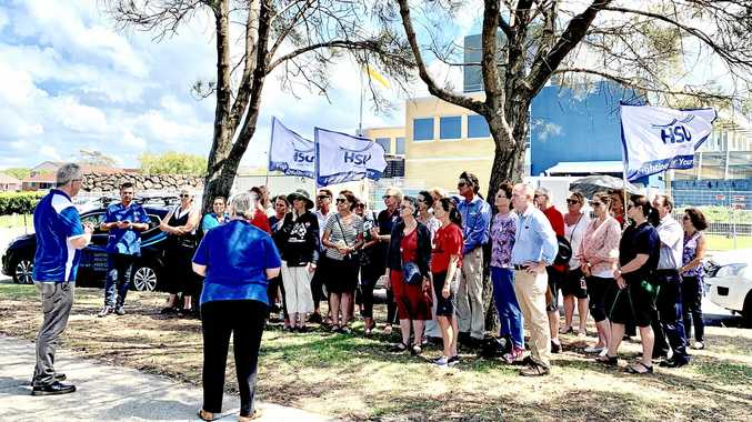 The Health Services Union met with the NSW Nurses and Midwives Association calling on the NSW Government to release its long-awaited Community Health Review report.