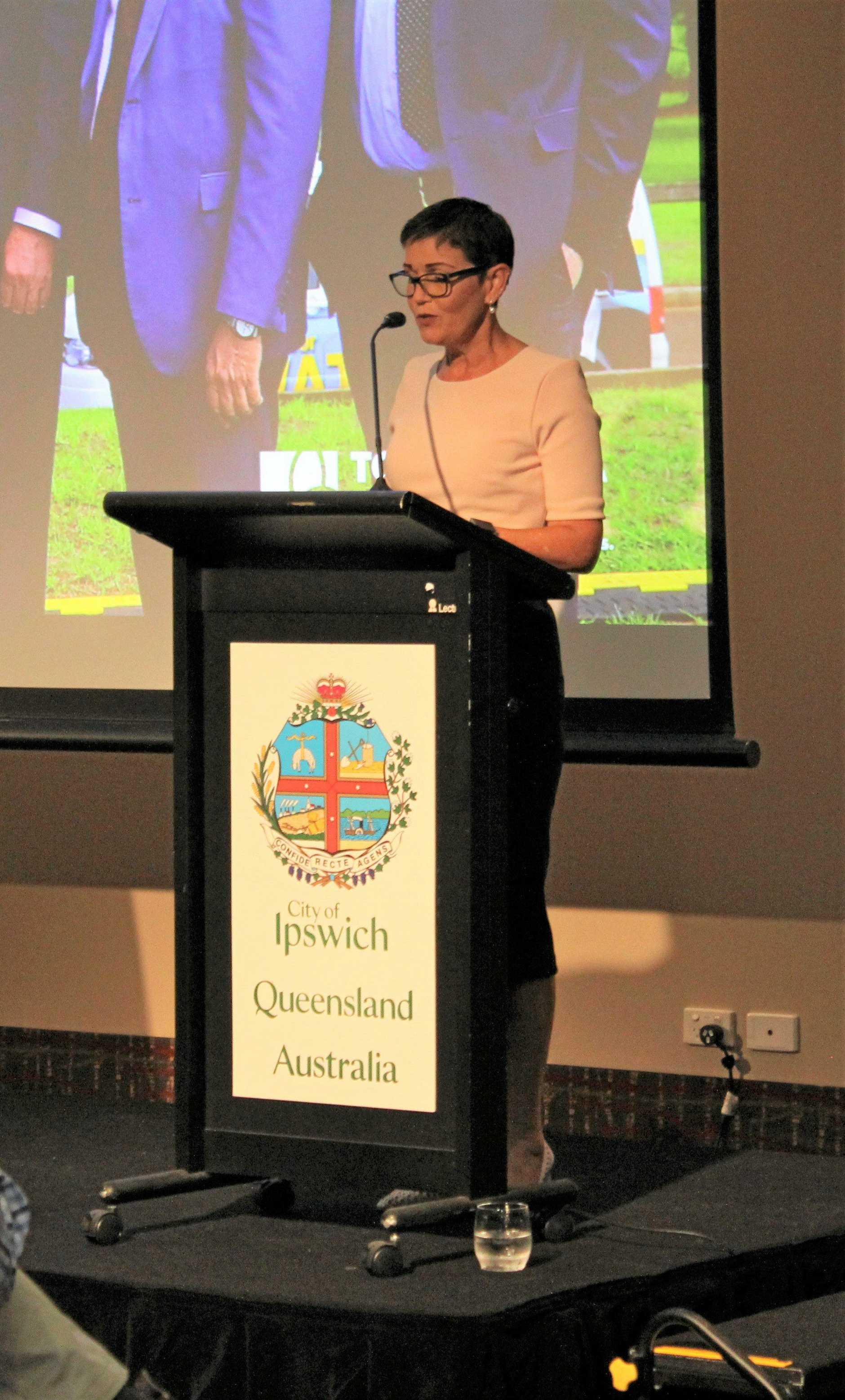Lockyer Valley mayor Tanya Milligan.