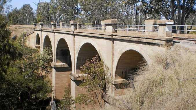 BUILT TO LAST: The Humphrey Bridge will be one of the many attractions along the Boyne Burnett Inland Rail Trail.