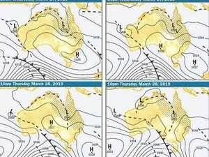 Ex-cyclone to deliver heavy falls
