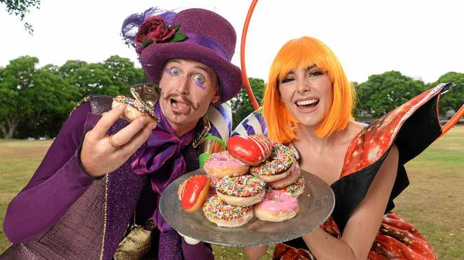 CELEBRATE: Galaxy Girl and Fiesta Jester will be a part of this year's new-look Ipswich Festival.