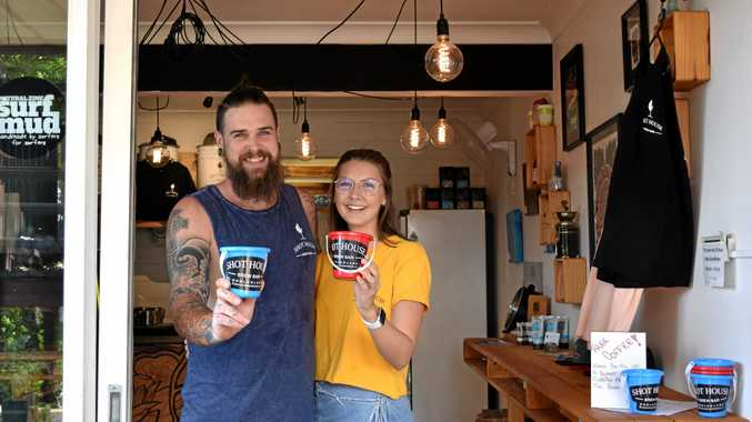 Free coffee for a bucket of rubbish