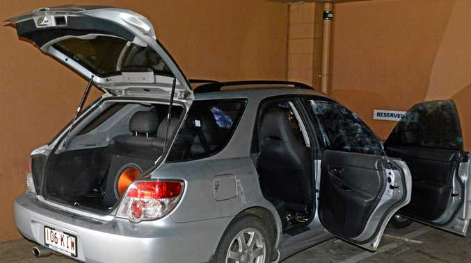 ABANDONED: A Subaru stolen from Blue Mountain Heights was found in Toowoomba City.