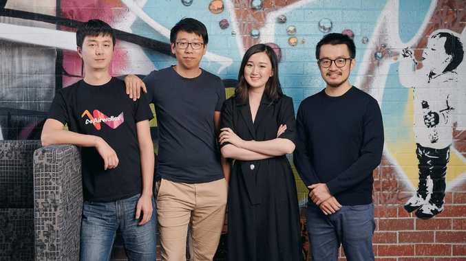 Airwallex founders Jack Zhang (CEO), Lucy Liu (President), Xijing Dai (CTO) and Max Li (Product Architect).