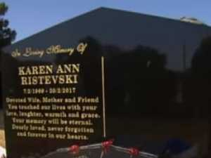 Horror over Ristevski tombstone