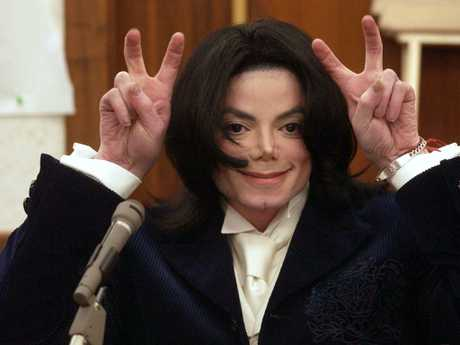 Michael Jackson testifies during his civil trial in Santa Maria Superior Court in 2002 where he was sued for $21 million by his longtime promoter for backing out of two concerts.