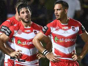 Dragons half struggling with new-look spine