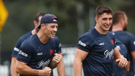 Cooper Cronk returns for the Roosters. Picture. Phil Hillyard