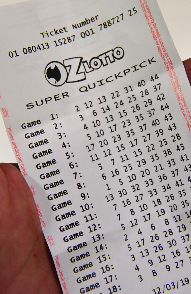 Oz Lotto Ticket Price