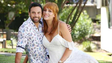 Married At First Sight couple Cam and Jules. Picture: Richard Dobson