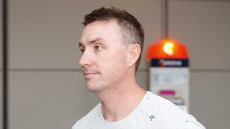 Pauline Hanson's chief of staff James Ashby. Picture: AAP