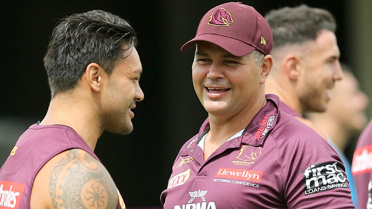 Anthony Seibold wants to get the best out of his experienced stars. Image: AAP Image/Jono Searle