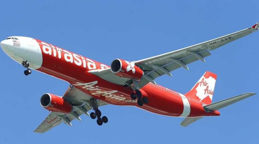 AirAsia has been slammed for its latest ad campaign, accused of promoting sex tourism to Thailand. Picture: David Clark