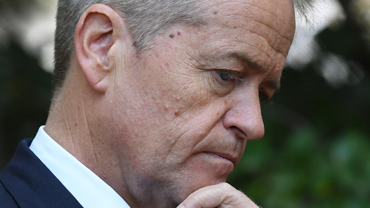 Bill Shorten is offering 'bigger, better, fairer tax cuts'. Picture: Joel Carrett/AAP