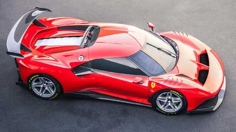 The P80/C is based on the Ferrari 488.