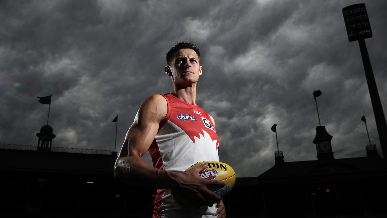 Sydney ruckman Callum Sinclair. Picture: Phil Hillyard