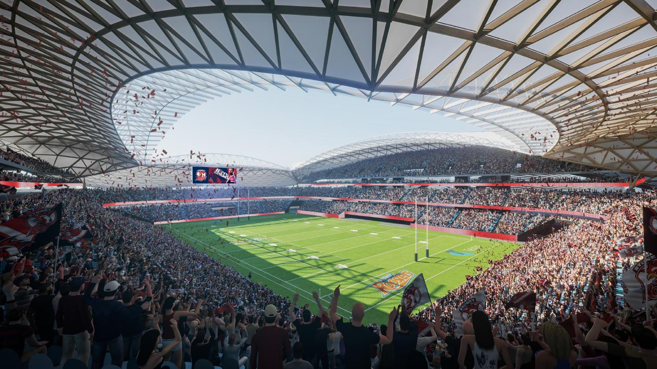 An artist's impression of how Allianz Stadium will look.