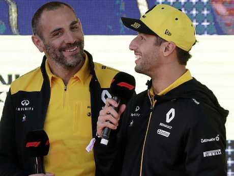 Cyril Abiteboul believes Daniel Ricciardo has grown up.