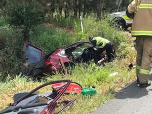 Horror crash victim 'lucky to survive': Critical care doctor