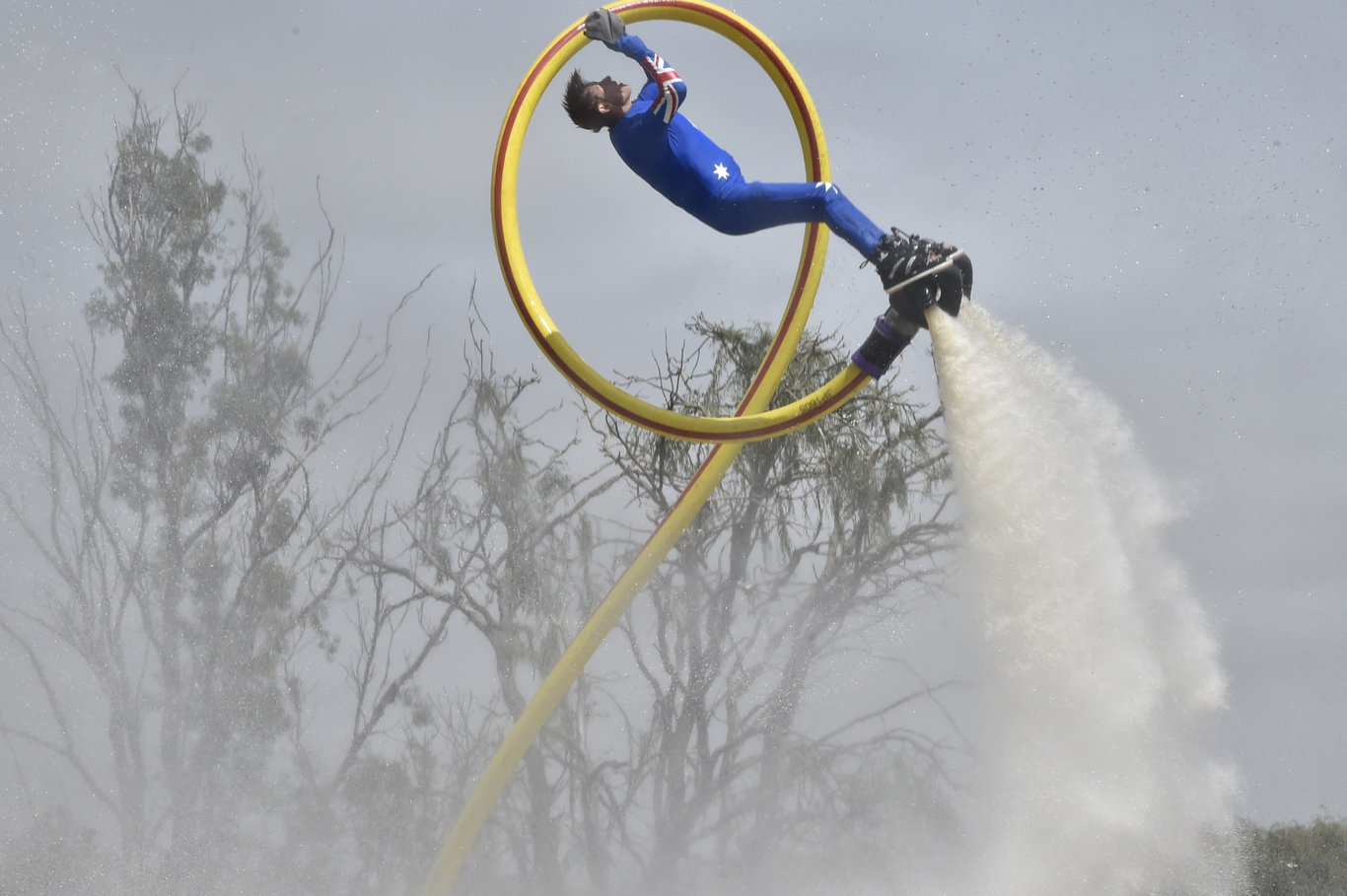 Don't miss the thrilling jetpack entertainment at the Toowoomba Show this year.