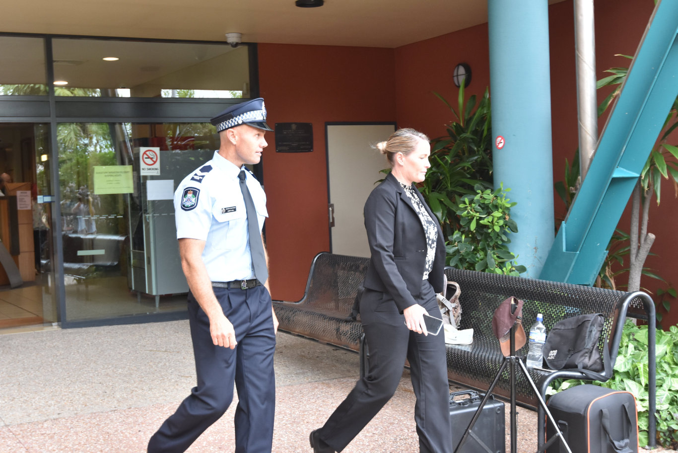 Queensland Police Service diver Senior Constable James Hall gave evidence on Wednesday at the Coroners Court in Gladstone during the joint inquest into the sinkings of vessels Cassandra in April 2016 and Dianne.