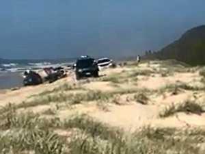 Sand dune chaos risks lives, sparks debate on beach closure