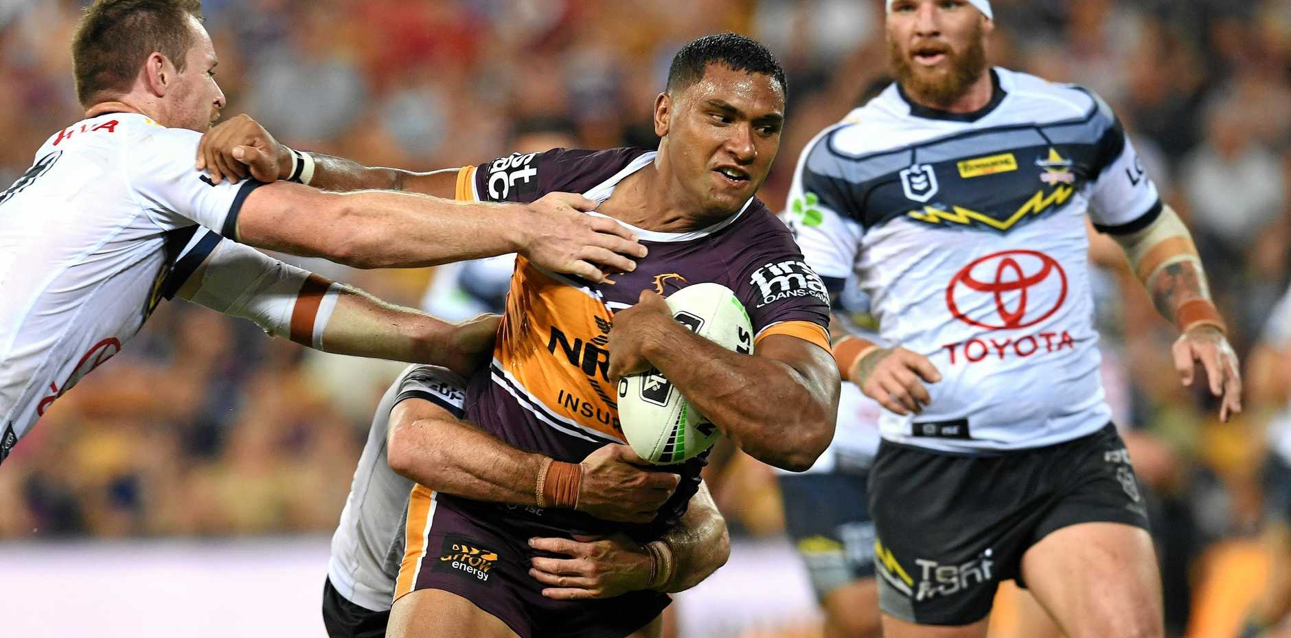 Tevita Pangai Jnr will be looking for more of the same when he lines up against the Dragons.