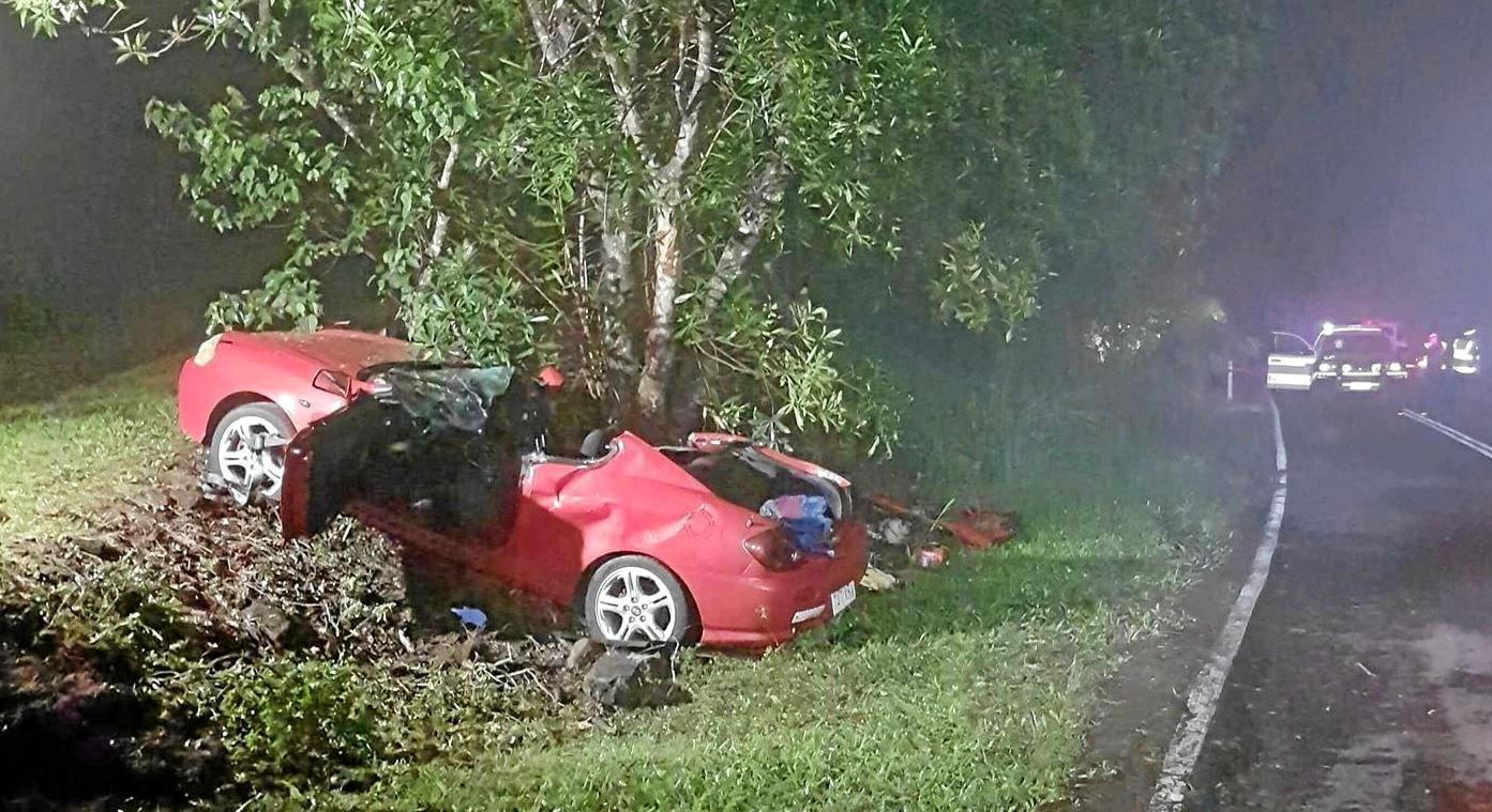 CAR CRASH: Burnside State High School student Jade Dixson died as a result of the crash on Dulong Road at Dulong about 11.30pm on March 27.
