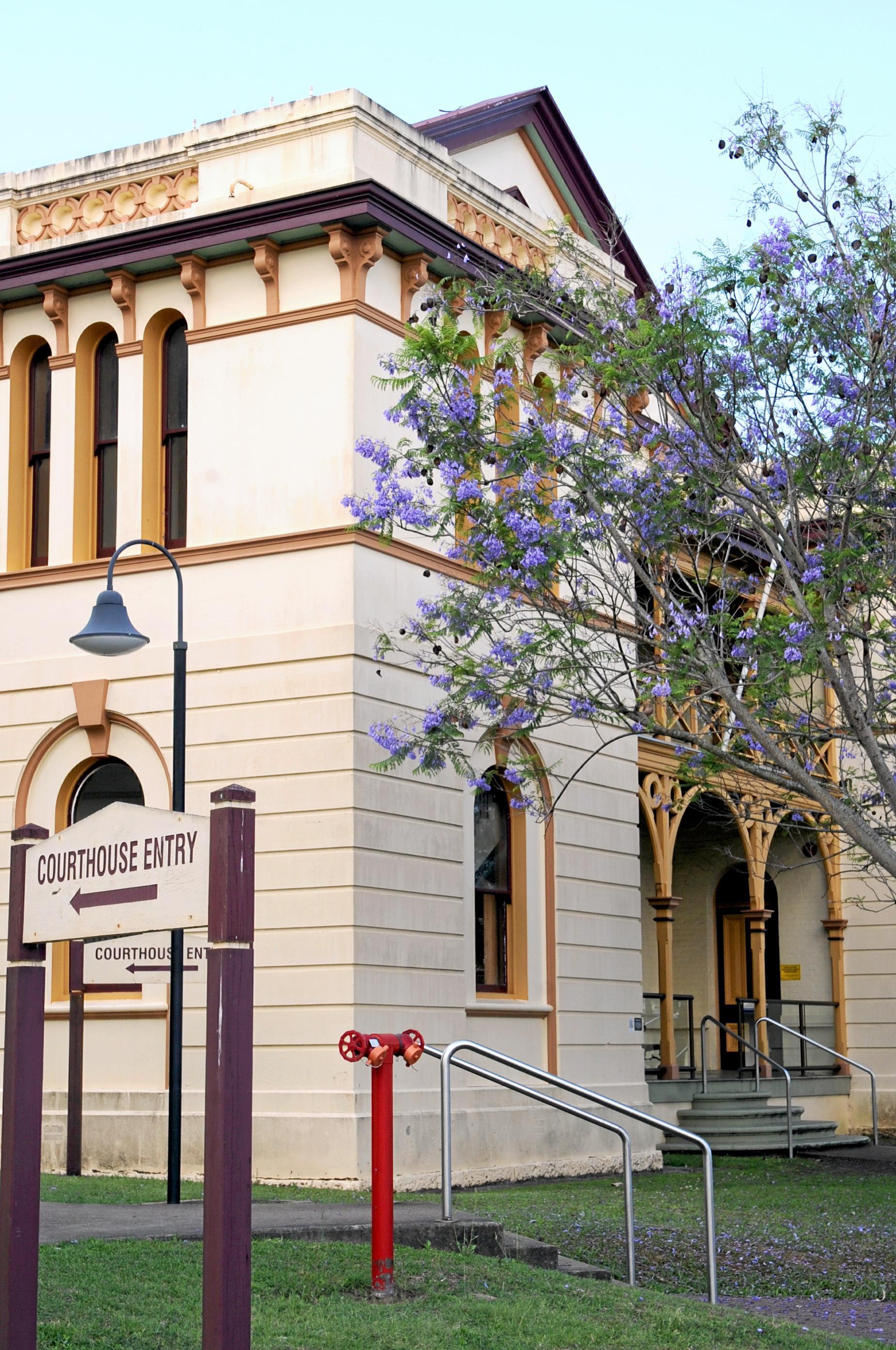 Maryborough Court House. Photo: Valerie Horton/ Fraser Coast Chronicle.