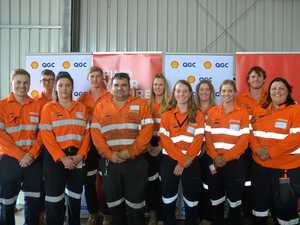 Shell's QGC welcomes new recruits