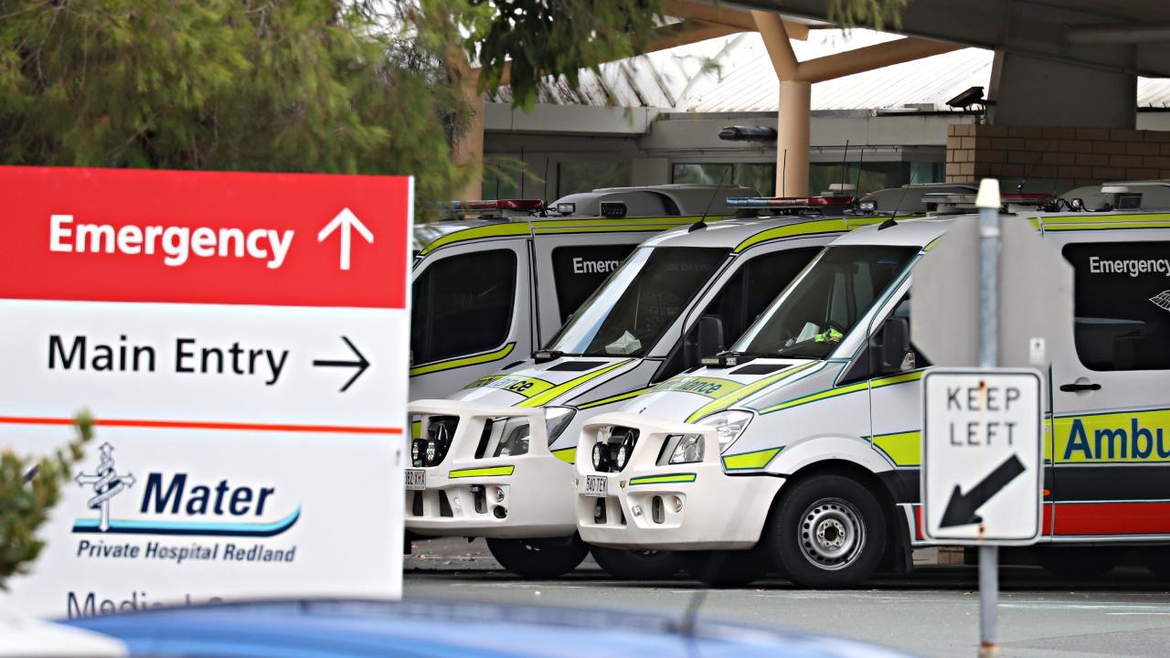 Annastacia Palaszczuk on QLD hospital crisis. Pic Annette Dew