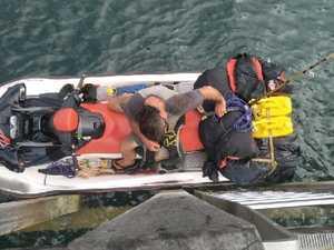 Man caught trying to flee Australia on jet ski