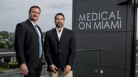 Doctors Ben Jansen, Clinical Director, and Dr Mark Matua, Managing Director. Picture: Jerad Williams
