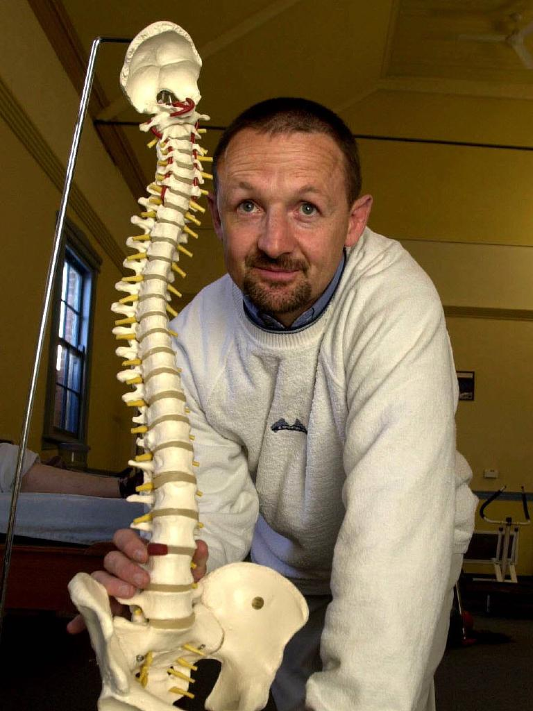 Former rugby union player Marty Roebuck is now a physiotherapist in Bathurst. Picture: Frank Violi.
