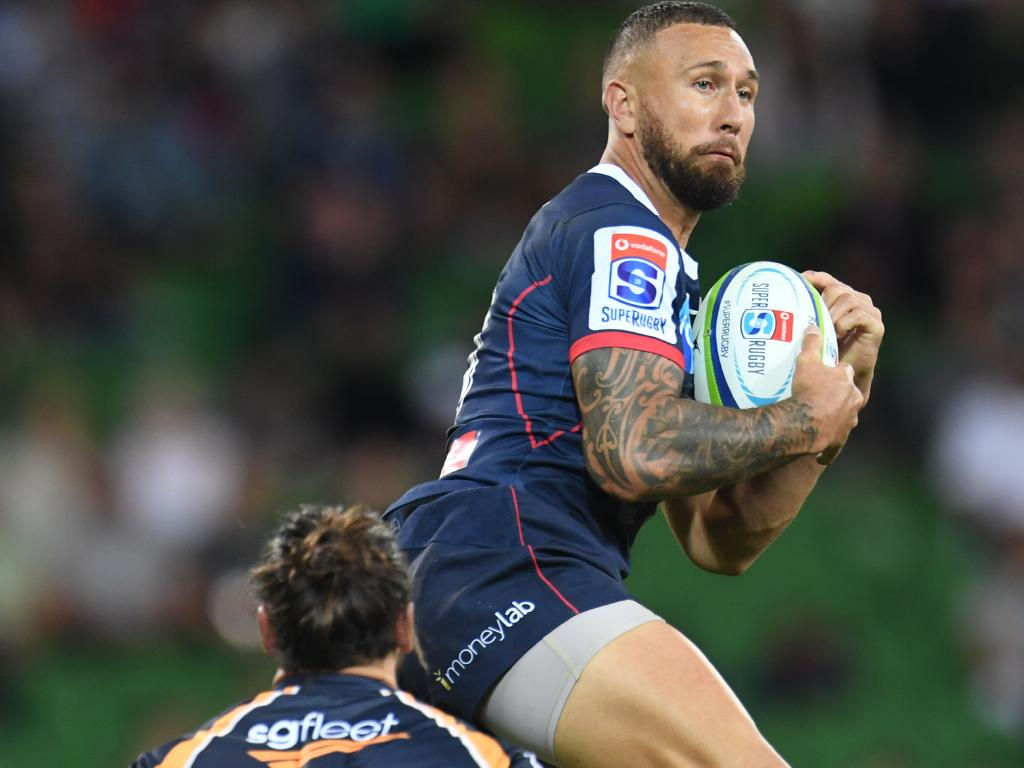 "Quade Cooper ""didn't leave on bad terms with the Queensland public""."