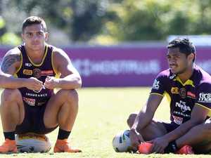 Broncos hit back over 'cracking' halves sledge