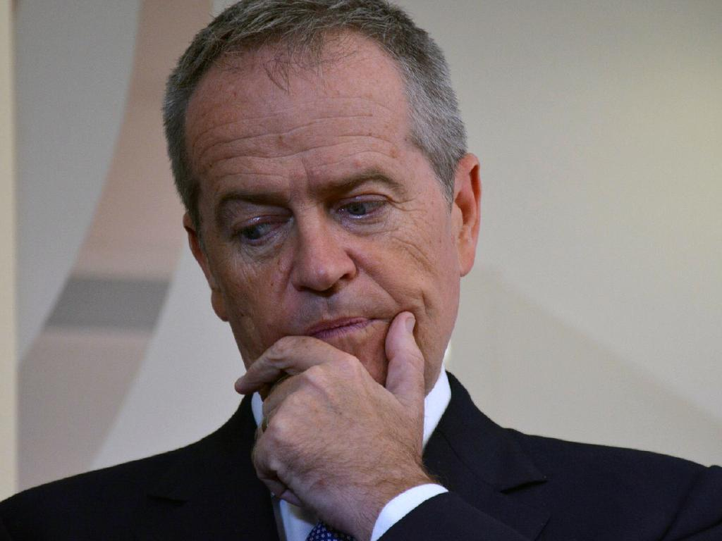 Opposition Leader Bill Shorten says he doesn't want to live in a country where having rich parents is the most important thing. Picture: Rebecca Le May/AAP