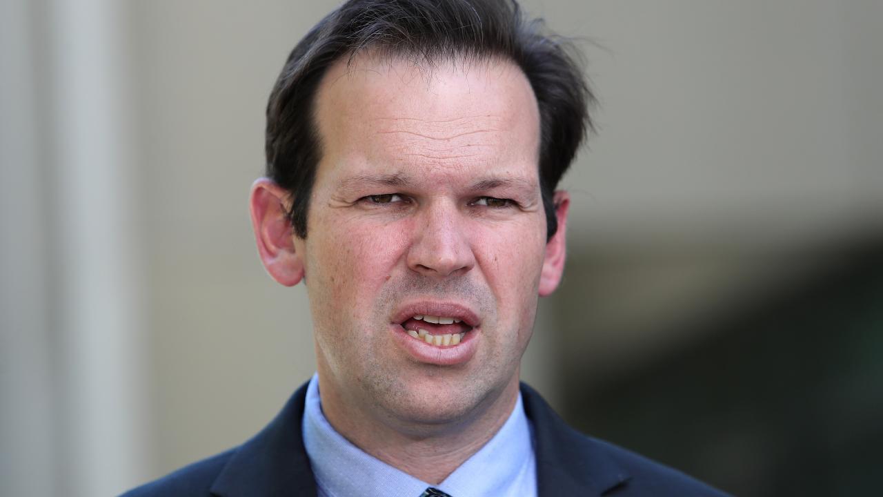 Senator Matt Canavan at Parliament House in Canberra.