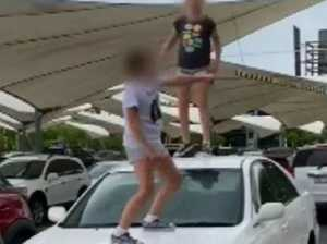 'You can't touch us': Young girls'  rampage